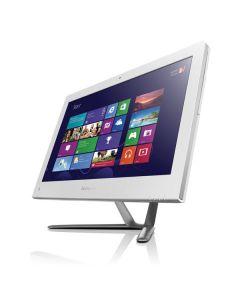 """Lenovo Essential C455 4G50VW 54.6 cm (21.5"""") AMD E 4 GB DDR3-SDRAM 500 GB HDD White All-in-One PC Windows 8"""