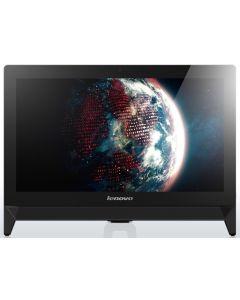 """Lenovo IdeaCentre C20-00 49.5 cm (19.5"""") Intel® Celeron® 2 GB DDR3L-SDRAM 500 GB HDD FreeDOS All-in-One PC Black"""