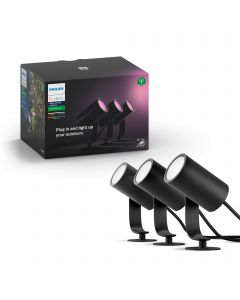 Philips Hue White and colour ambience Lily Outdoor spot light 1741430P7