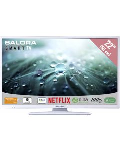 "Salora 22LED9112CSW TV 55.9 cm (22"") Full HD Smart TV White"