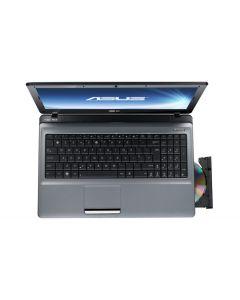 "ASUS A52JU-SX101V Notebook Black, Grey 39.6 cm (15.6"") 1366 x 768 pixels Intel® Pentium® 4 GB DDR3-SDRAM 320 GB HDD AMD Radeon HD 6370M Windows 7 Home Premium"