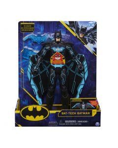 DC Comics , Batman Bat-Tech 12-inch deluxe actiefiguur met uitbreidende vleugels, lichten en meer dan 20 geluiden